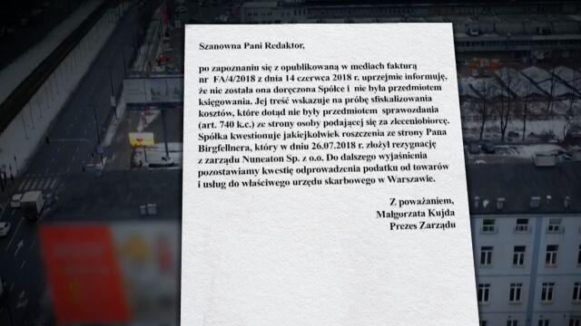 """""""Gazeta Wyborcza"""" dotarła do faktury, którą miał wystawić austriacki biznesmen"""