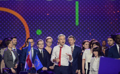 Biedroń przedstawił swój zespół na konwencji założycielskiej