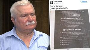 Tablica upamiętni braci Kaczyńskich. Wałęsa: brzmi dumnie
