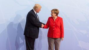 Merkel i Trump rozmawiali przez telefon. O Syrii i wspólnym handlu