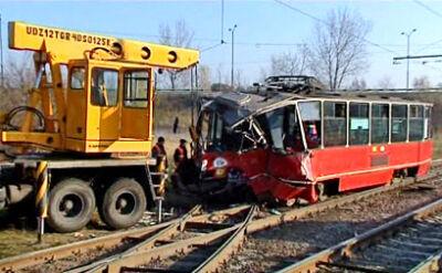 W zderzeniu tramwajów rannych zostało 8 osób