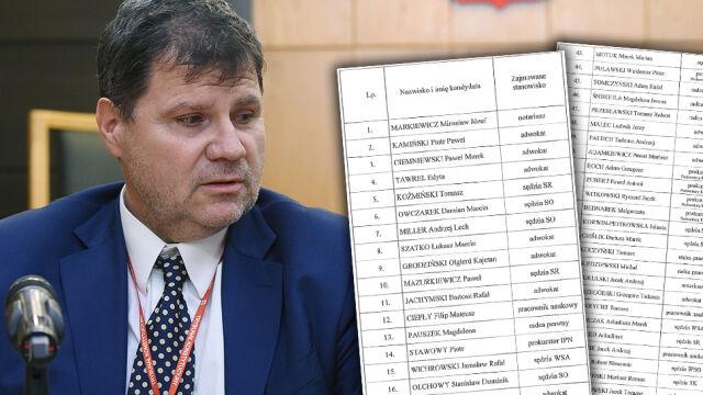 Nowa KRS publikuje nazwiska kandydatów do Sądu Najwyższego