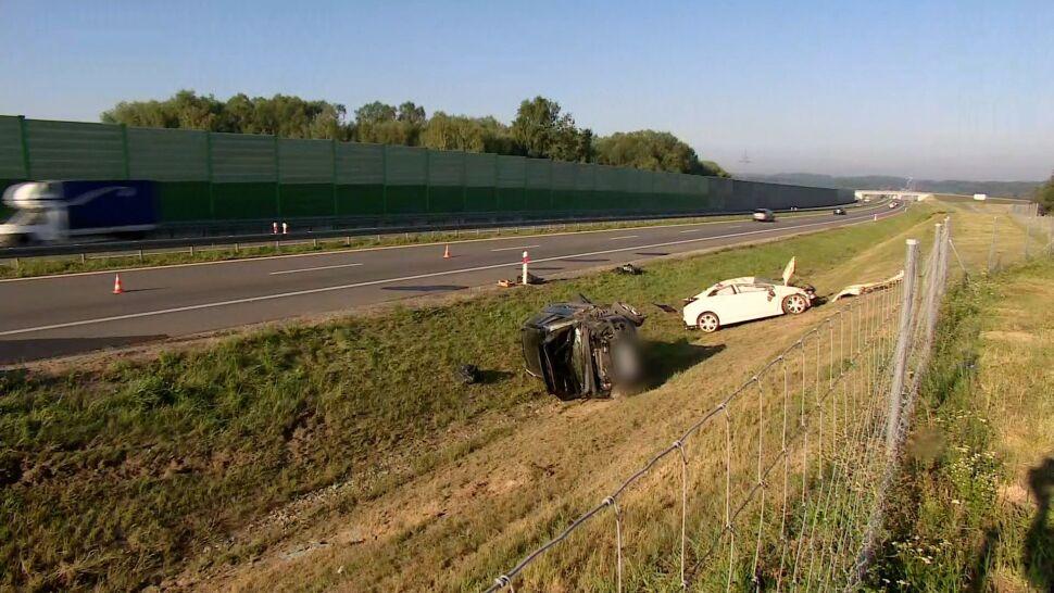 Wypadek na S8. Sześć osób rannych