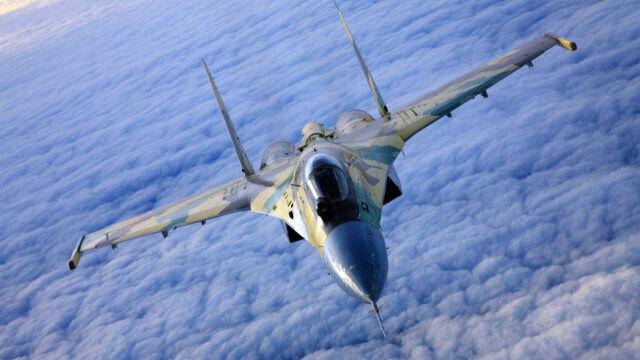 Rosyjski Su-27 poderwany do amerykańskiego Poseidona