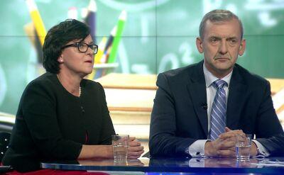 """""""Minister Zalewska dużo mówi, maluje trawę na zielono"""""""