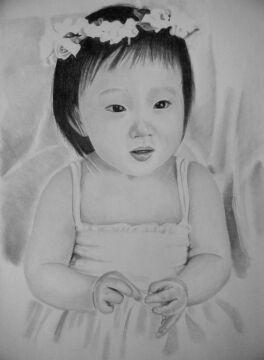 Jedna z prac młodego artysty