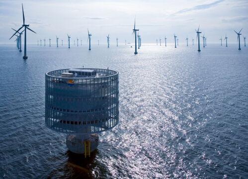 Turbina trafi na duńskie morze w pobliżu miasta Østerild