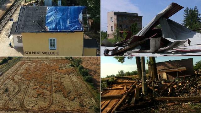 Połamane drzewa, zerwane dachy, ewakuowane obozy. Ponad pół tysiąca interwencji