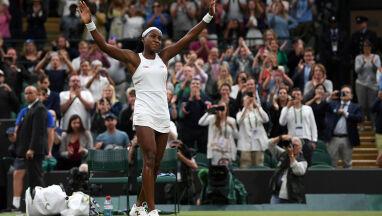 15-latka znów zadziwiła Wimbledon.