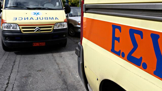 Wypadek Polaków w Grecji. Mężczyzna nie żyje, kobieta jest ranna