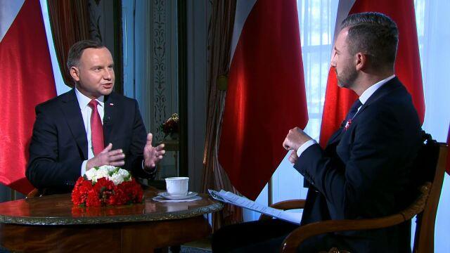 Prezydent Andrzej Duda: zaprosiłem Donalda Trumpa do Polski