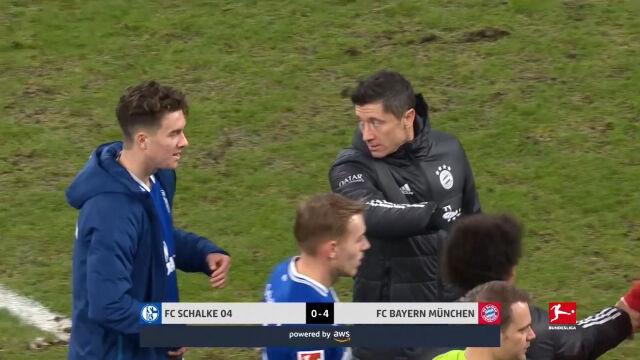 Skrót meczu Schalke - Bayern w 18. kolejce Bundesligi