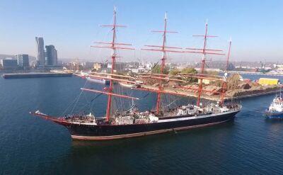Jeden z największych żaglowców świata zawitał do Gdyni. Ma aż 118 metrów długości