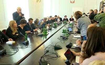 Spotkanie z przedstawicielami ofiar księży pedofilów