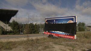 Straż miejska w Gdyni usuwa mobilne banery. Kandydat PiS na prezydenta: rozważamy doniesienie do prokuratury