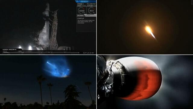 Rakieta Falcon 9 wyniosła na orbitę kolejnego satelitę