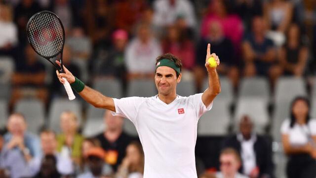 Rekord frekwencji pobity. Federer ograł Nadala w szczytnym celu