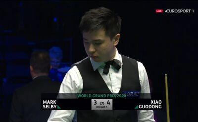 Xiao Guodong pokonał Selby'ego w pierwszej rundzie World Grand Prix
