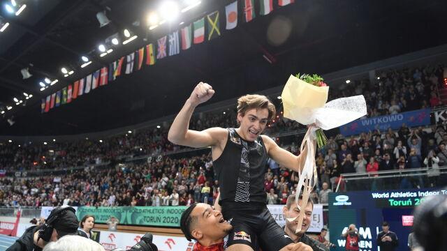 Wyjątkowe gratulacje po rekordzie świata. Siergiej Bubka zachwycony wyczynem młokosa