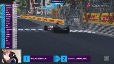 Zwycięska seria Guenthera przerwana. Wehrlein wygrał w Monako