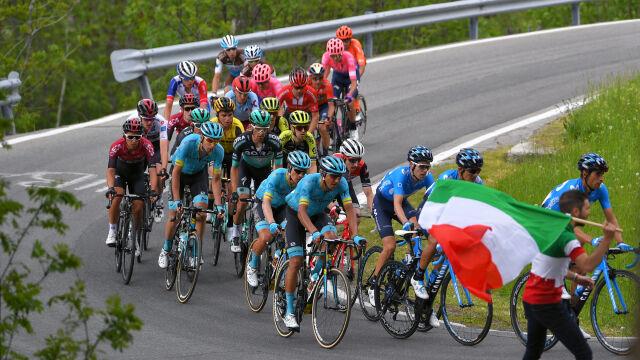 """Zmiana trasy Giro d'Italia. """"Konieczne było poświęcenie pewnych rzeczy"""""""