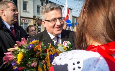 Andrzej Duda o dzieciach na wiecu poparcia Komorowskiego