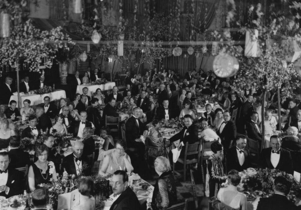 Pierwsza oscarowa gala odbyła się w 1929 roku w sali Blossom hotelu Hollywood Roosevelt w Los Angeles