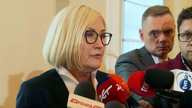 Kopcińska: prowadzimy rozmowy z Komisją Europejską i prowadzić będziemy
