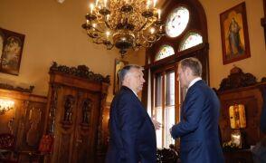 Tusk przyjechał do Orbana rozmawiać o szczycie