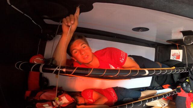 Mateusz Gwóźdź o świetnej pracy nawigatora podczas etapu z Alicante do Genui