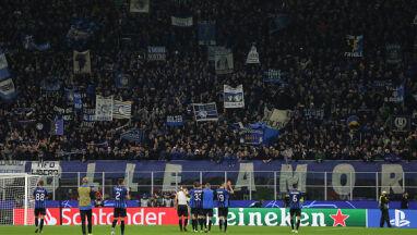 Co trzeci mieszkaniec Bergamo na stadionie podczas meczu Ligi Mistrzów