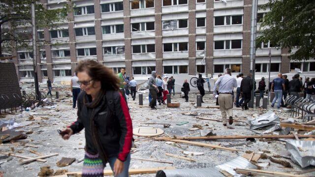 Eksplozja w centrum Oslo