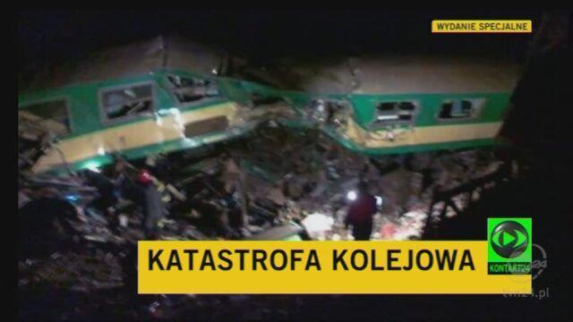 Rzecznik PKP o szczegółach wypadku (TVN24)