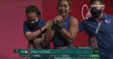 Tokio. Hidilyn Diaz pobiła rekord olimpijski i wywalczyła złoty medal w podnoszeniu ciężarów