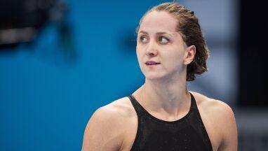 Polska pływaczka myślami jest już przy finale.
