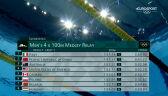 Tokio. Cały bieg Polaków w sztafecie 4x100 m stylem zmiennym