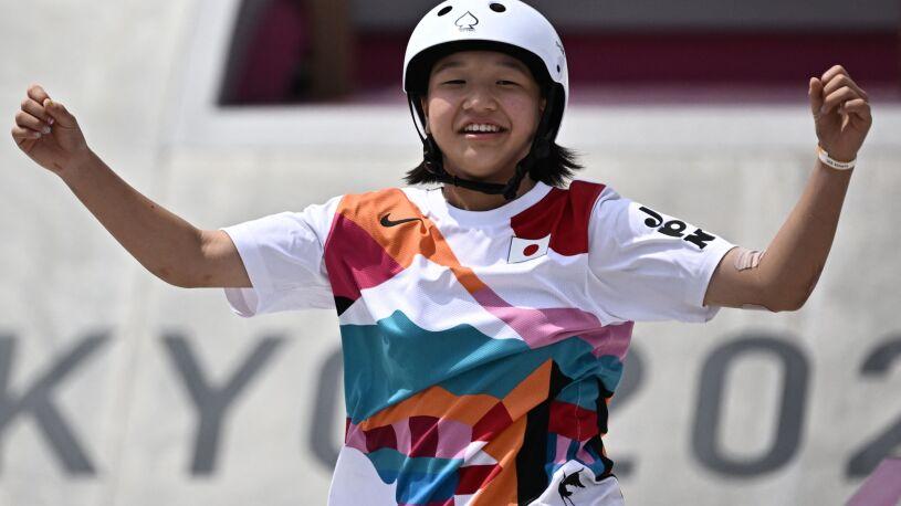 Historyczne podium igrzysk. 13-latka ze złotem