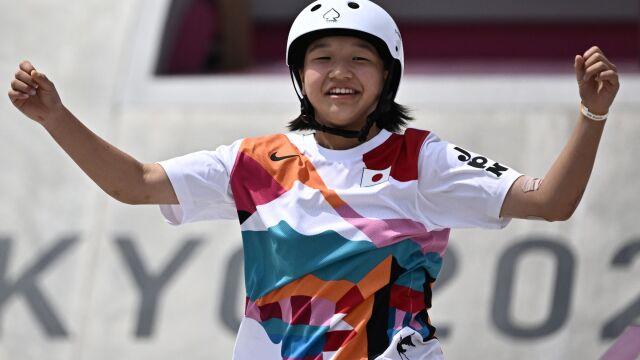 Deskorolka kobiet w Tokio. 13-latka ze złotem w konkurencji street