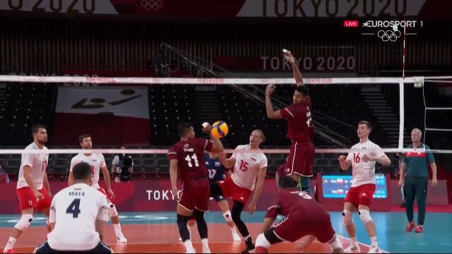 Tokio. Polska – Wenezuela 2. set (11:5)