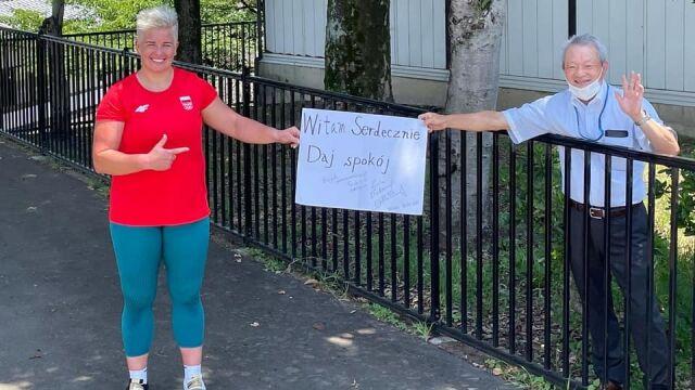 """""""Daj spokój"""". Zagadkowe hasło zagrzewa Anitę Włodarczyk do walki o medal w Tokio"""
