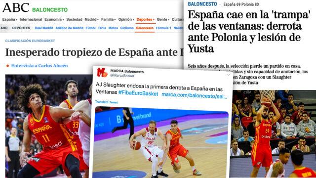 """Hiszpania w szoku po porażce z Polską. """"Jeden wielki koszmar"""""""