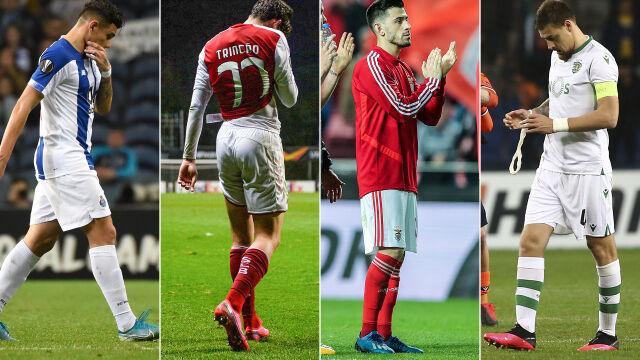 Jedna runda, cztery katastrofy. Portugalia już bez drużyn w Europie