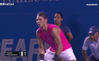 Nadal w ćwierćfinale turnieju ATP w Acapulco