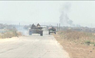 Wojna domowa w Syrii trwa od 2011 roku (wideo archiwalne)