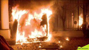 Prokuratura umorzyła sprawę podpalenia budki przed ambasadą Rosji