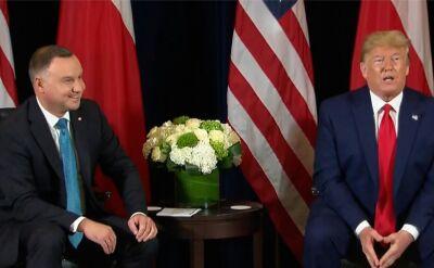 Duda spotkał się z Trumpem w Nowym Jorku