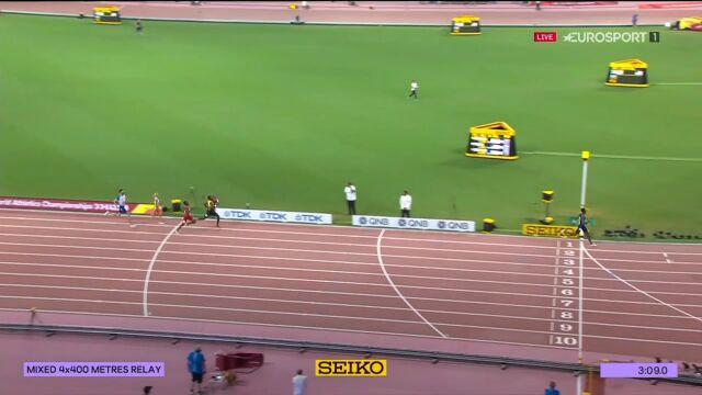 Polska 5. w sztafecie mieszanej 4x400m, USA ze złotem i rekordem świata