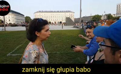 Urzędniczka spoliczkowała demonstrującą