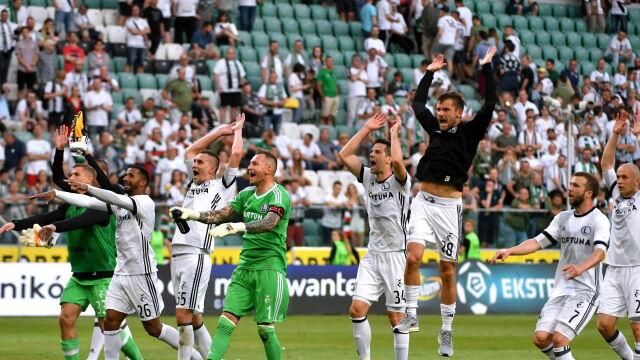 Ekstraklasa zdecydowała: Legia nie będzie miała fety w Poznaniu. PZPN zdziwiony