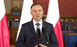 """Prezydent Duda liczy na """"reset"""" w stosunkach z Francją"""